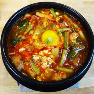 S4. Seafood & Tofu Soup