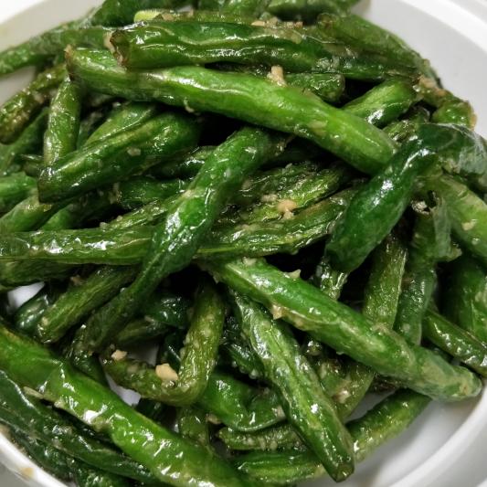 V16. Garlic String Green Bean