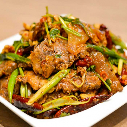 A1. House Special Assorted Beef Tripe Slices in Special Chilli Sauce