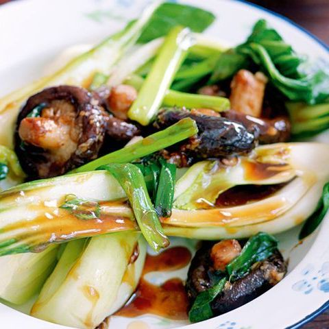 V15. Shitake Mushroom & Bok Choy