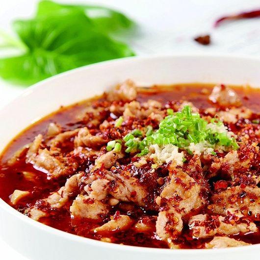 A12. Szechuan Style Spicy Beef Omasum