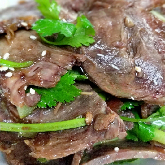 A10. Sliced Five Spices Beef