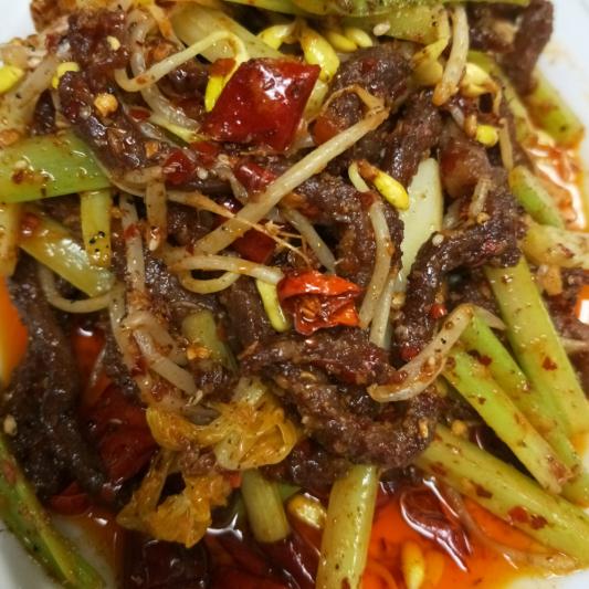B14. Szechuan Deep Fried Shredded Beef