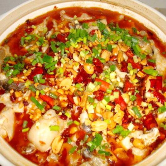 SF6. FishwithSoftTofuin Chop Chilli Sauce