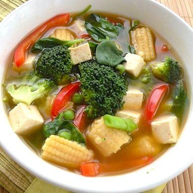 S7. Pickled Veggie & Vermicelli Soup