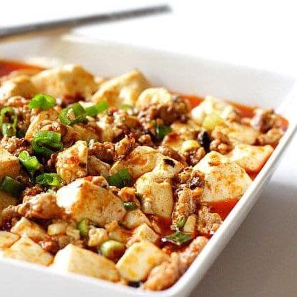 V1. Szechuan Mah Po Tofu