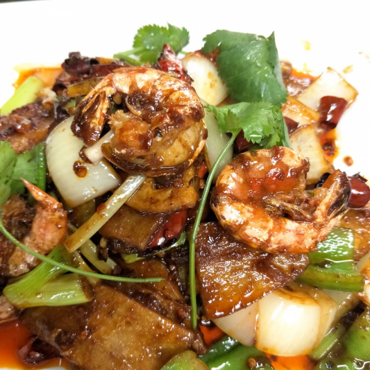 T5. House Special Chilli Prawns