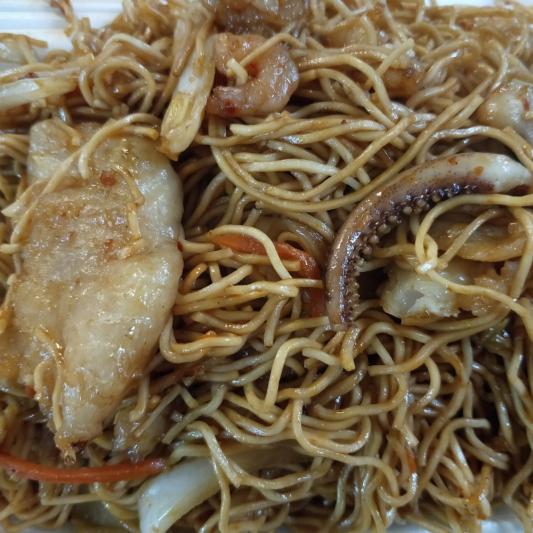 N3. Chong Qing Style Stir Fried Noodle