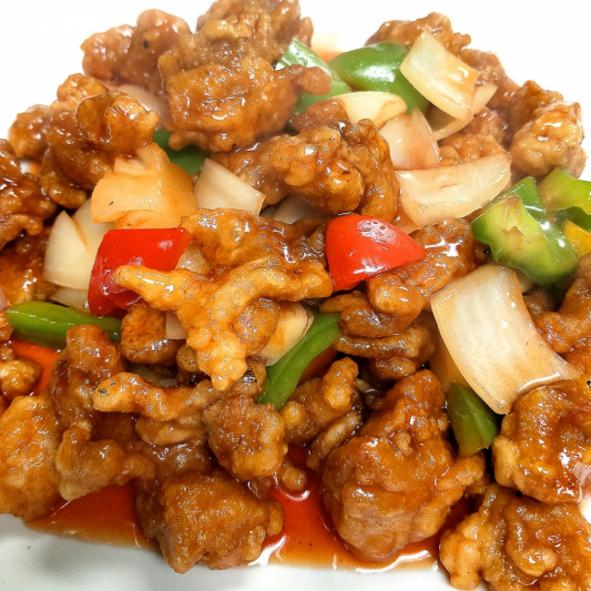 C2. Sweet & Sour Fried Chicken