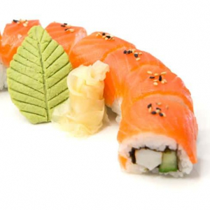 Red Dragon Roll (8 pcs)