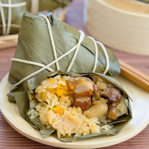 11. Sticky Rice Wrap in Bamboo Leaf (1 pc)