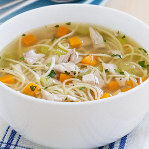 Vermicelli in Soup