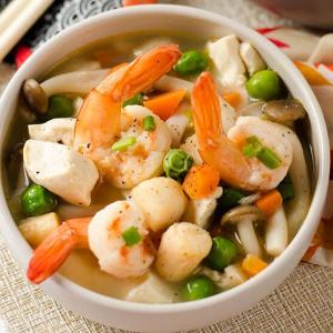 152. Diced Seafood and Tofu Soup
