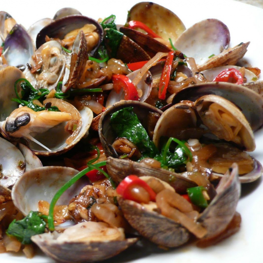 29. Clams in Black Bean Sauce