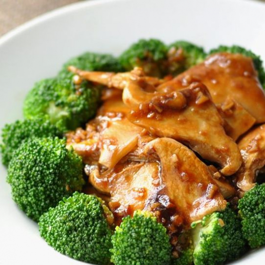 225. Chinese Mushroom and Vegetable in Oyster Sauce