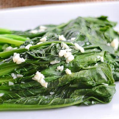 231. Sauteed Kai Lan with Minced Garlic