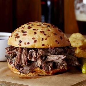 Hot Beef Sandwich