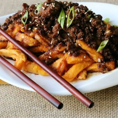 Ground Beef Poutine