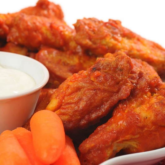 Wing Platter (With Fries)