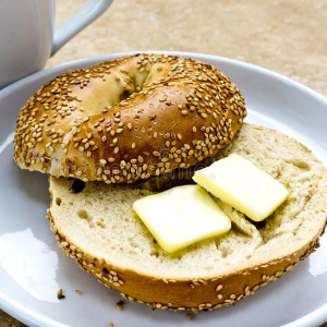 Bagel With Butter