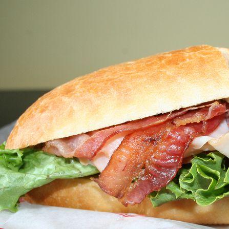 Club Sandwich Turkey Or Chicken
