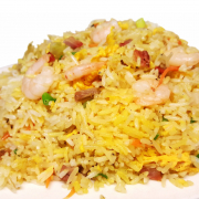 R6 House  Fried Rice (Shrimps & BBQ Pork)
