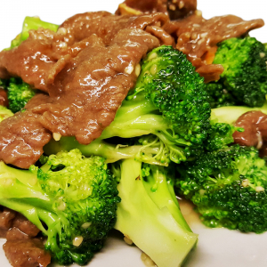B6 Sliced Beef with Broccoli