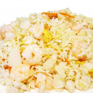 R12. Seafood Fried Rice (Scallop, Fish & Shrimp)