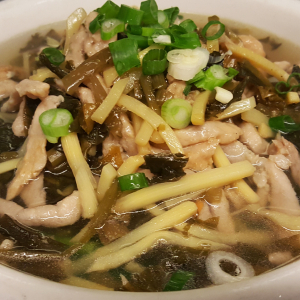 N7 Pork & Salted Vegetable Noodle Soup