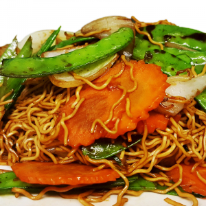 M17. Stir-Fried Chow Mein with Vegetables