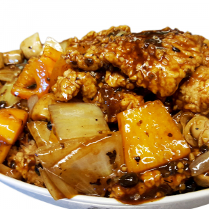 F4 Fish Fillet with Black Bean Sauce