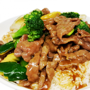 O9 Beef & Mixed Vegetables