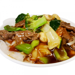 M27 Fried Rice Noodle with Beef & Mixed Vegetables
