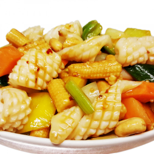 F8 Kung Pao Squid with Diced Vegetables