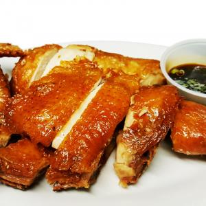 C20 Szechuan Fried Chicken with Garlic Sauce