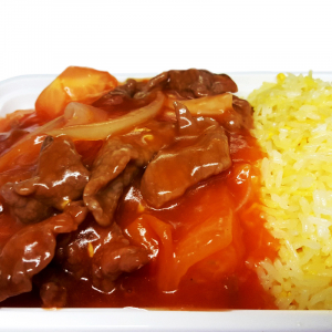 R10. Beef & Tomato Fried Rice