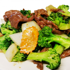B7 Sliced Beef with Mixed Vegetables