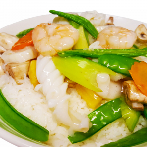 O18. Mixed Seafood & Vegetables