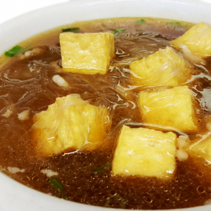 S9 Fried Tofu & Vermicelli Soup