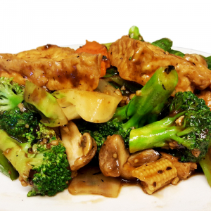 V6 Vegetables with Tofu in Black Bean Sauce