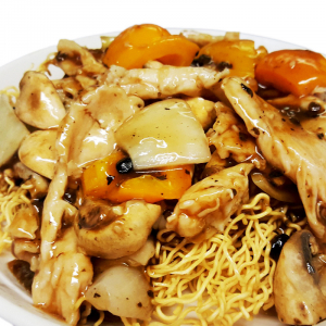M11 Chicken & Black Bean Sauce Chow Mein