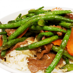 O14. Beef & Green Beans