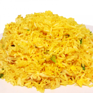 R8. Curried Chicken Fried Rice