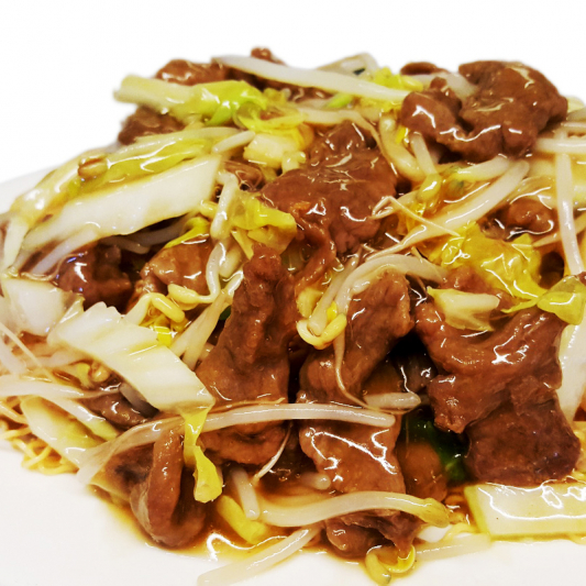 M3. Sliced Beef Chow Mein