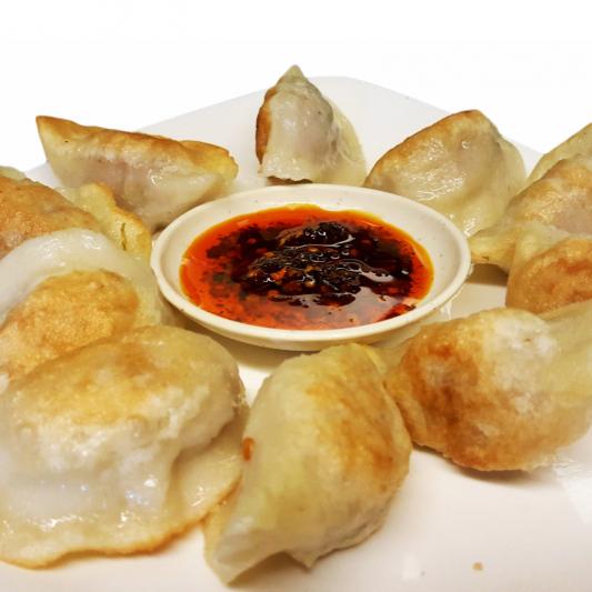 D7 Fried Vegetarian Dumplings
