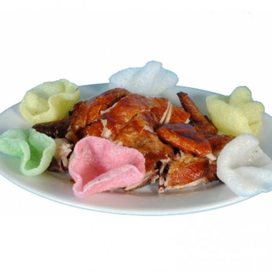 C19 Fried Crispy Chicken with Shrimp Chips