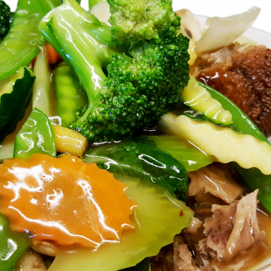 K2 Half Braised Duck with Mixed Vegetables