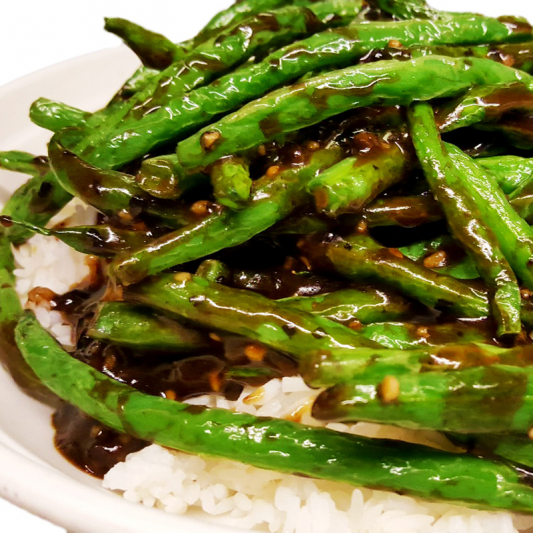 O16 Green Bean in Black Bean Sauce