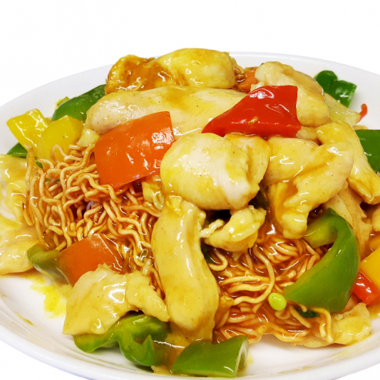 M13 Curried Sliced Chicken Chow Mein