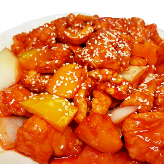 F3 Fish Fillet with Sweet & Sour Sauce